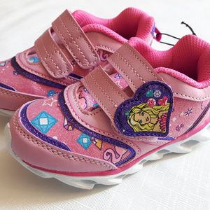 Girls Baby Barbie Shoes Size 7 Light Up